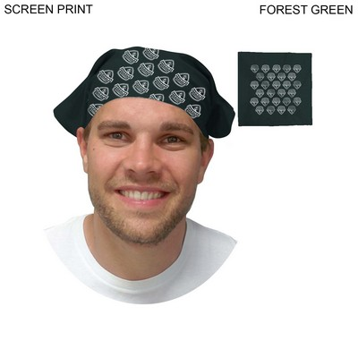 Discounted Bandanas, 22x22, Printed or Blank